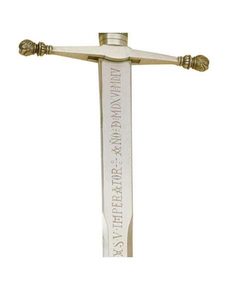 Espada Cad. Carlos V (Plata)