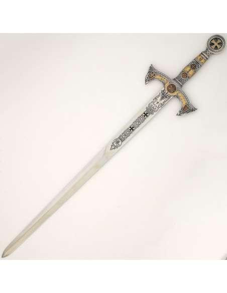 Templar Sword (Silver D.Gold)
