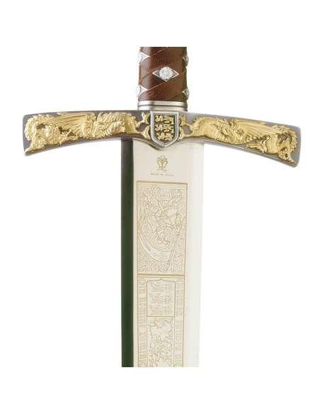 Richard LionHeart Sword (Silver/Gold)