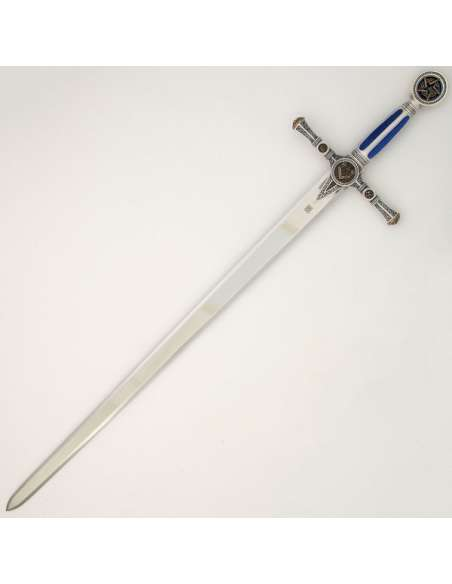 Masonic Sword (Silver Finished)