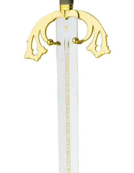 Espada Tizona El Cid Campeador (Oro)
