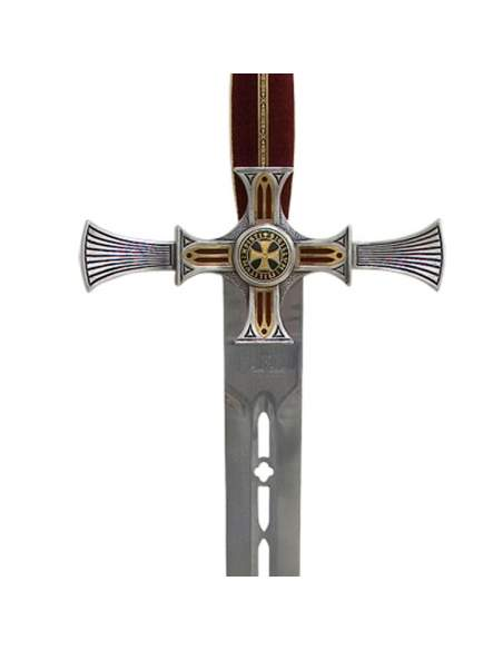 Damascened Templar Sword