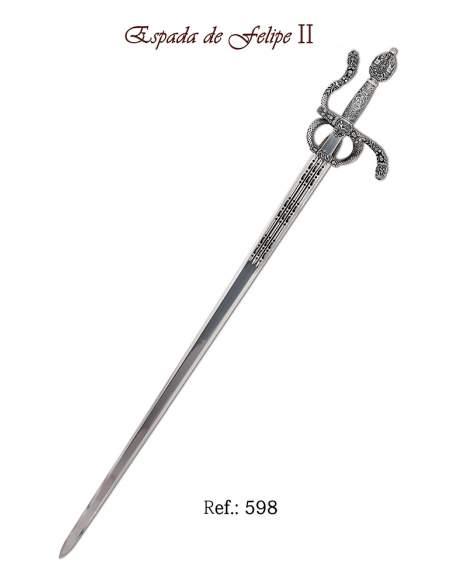 Espada Felipe II (Plata)