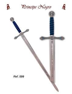 Black Prince Sword (Silver)