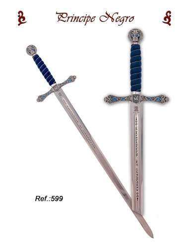 Espada Príncipe Negro (Plata)