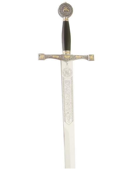 Excalibur Sword (Silver Dec. Gold)