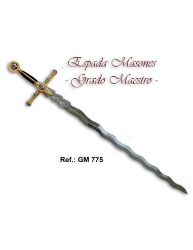 Espada Masones Grado Maestro