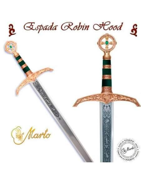 Espada Robin Hood (Oro Grab.Prof.)