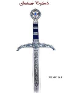 Robin Hood Sword (Silver Deep Etching)