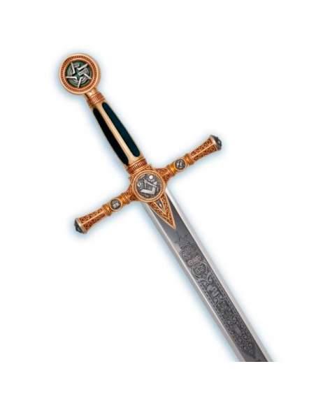 Masonic Sword (Gold Deep Etching)