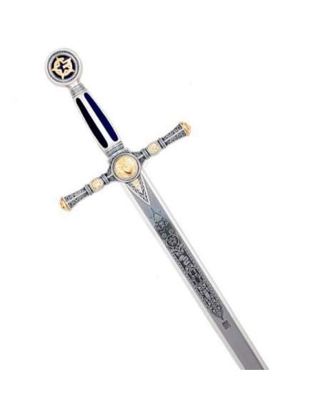 Espada Masónica (Plata Grab.Prof.)