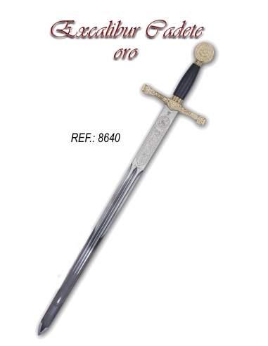 Espada Cadete Excálibur (Oro)