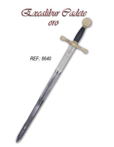 Excalibur Sword (Gold Finish)
