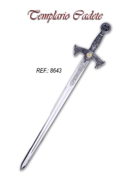 Espada Cadete Templaria (Plata)