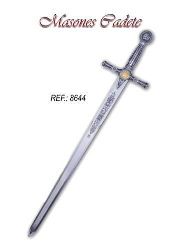 Espada Cadete Masónica (Plata)