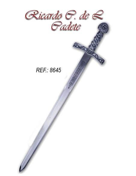 Espada Cadete Ricardo Corazón de León (Plata)