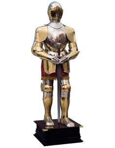 Medieval Armor Gold/Silver