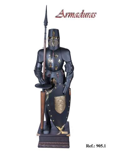 Armadura Caballero Negro