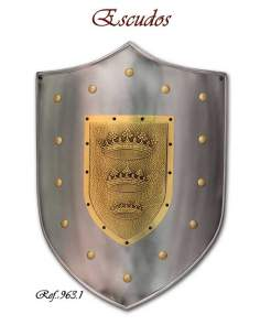King Arthur Shield Three Crowns