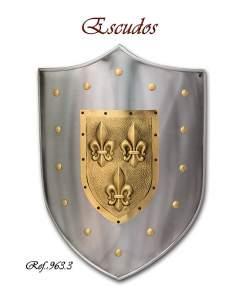 Shield Fleur de Lys