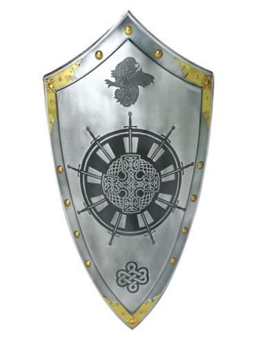 Escudo Mesa Redonda Rey Arturo