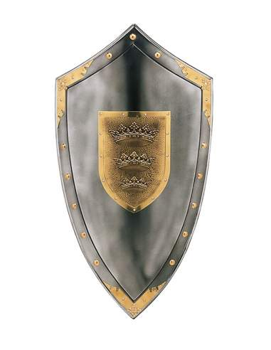 King Arthur Shield Three Crowns