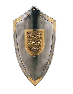 Three Lions Shield Richard The LionHeart