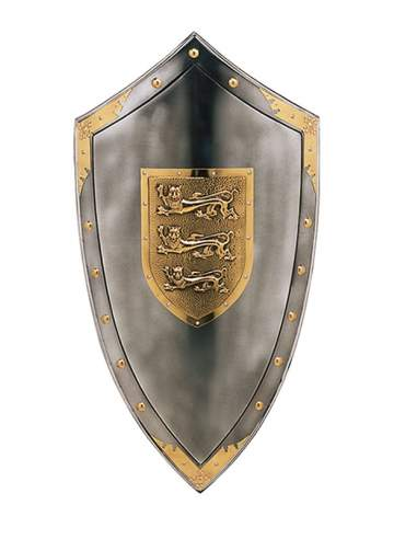 Three Lions Shield Richard The LionHeart
