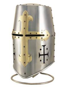 Cabeza Armadura Templarios