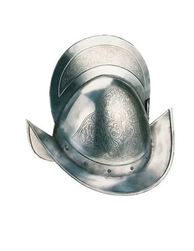 Etched Conqueror Helmet