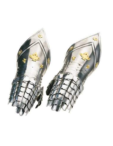 Gold Chiselling Gauntlets
