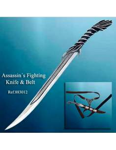 Assassin´s Fighting Knife/Belt
