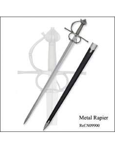 Espada ropera de metal