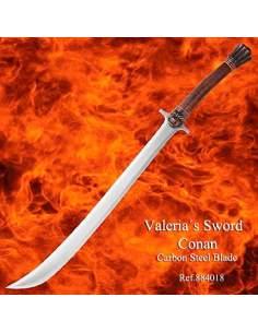 "Espada de película Conan ""Valeria"""